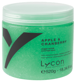 415LS - APPLE & CRANBERRY SUGAR SCRUB 520G