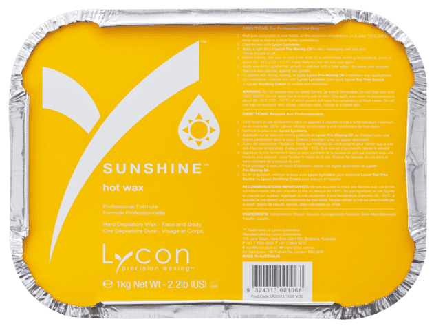 1HL0231 | SUNSHINE HOT WAX 1 KG - KATEGORI KLASSISK