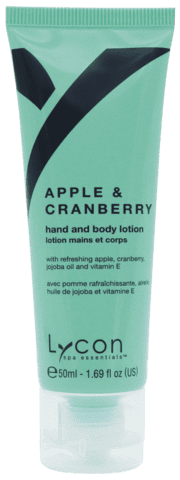 421LS - APPLE & CRANBERRY LOTION 50ml