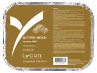 1HL0011 |  ACTIVE GOLD HOT WAX 1 KG - KATEGORI KLASSISK